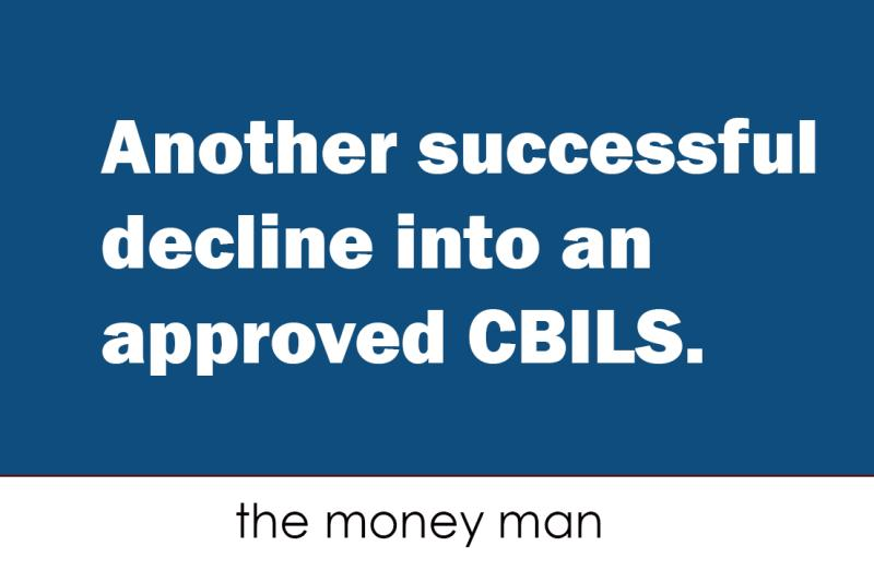 Turning CBILS 'declined' into 'approved'